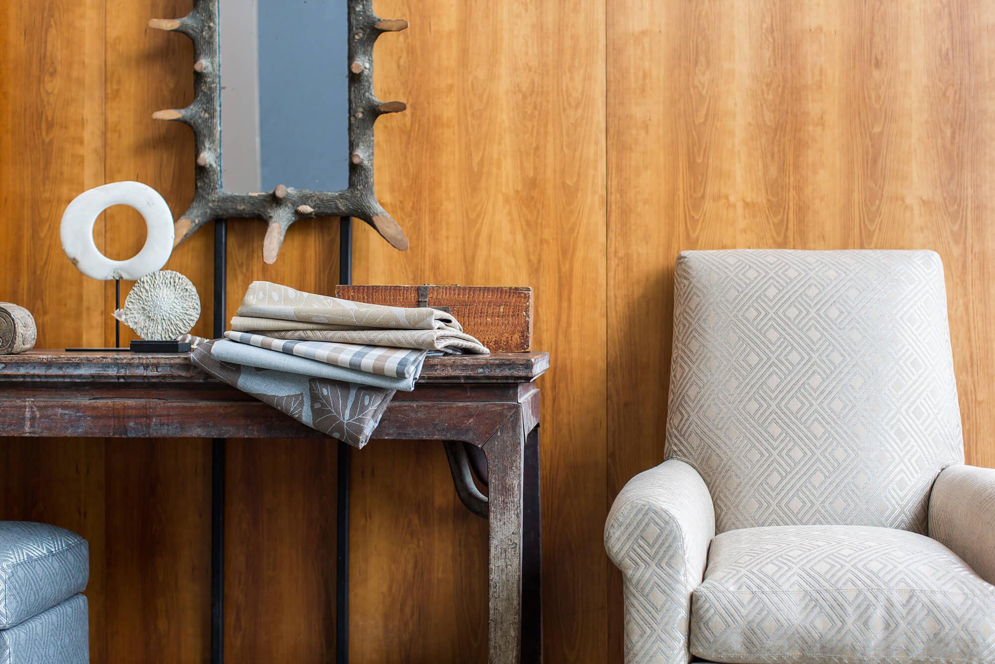 Sunbrella 中性提花图案的布艺沙发